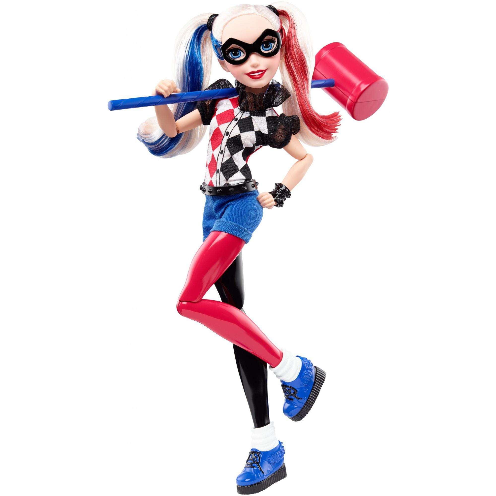 "Ans DC Super Héros Girls Harley Quinn 12/"" Doll NEW BOXED 6"