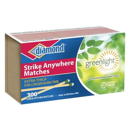Green Light Strike Anywhere Matches, Diamond Strike Anywhere Matches Large By (Best Strike Anywhere Matches)