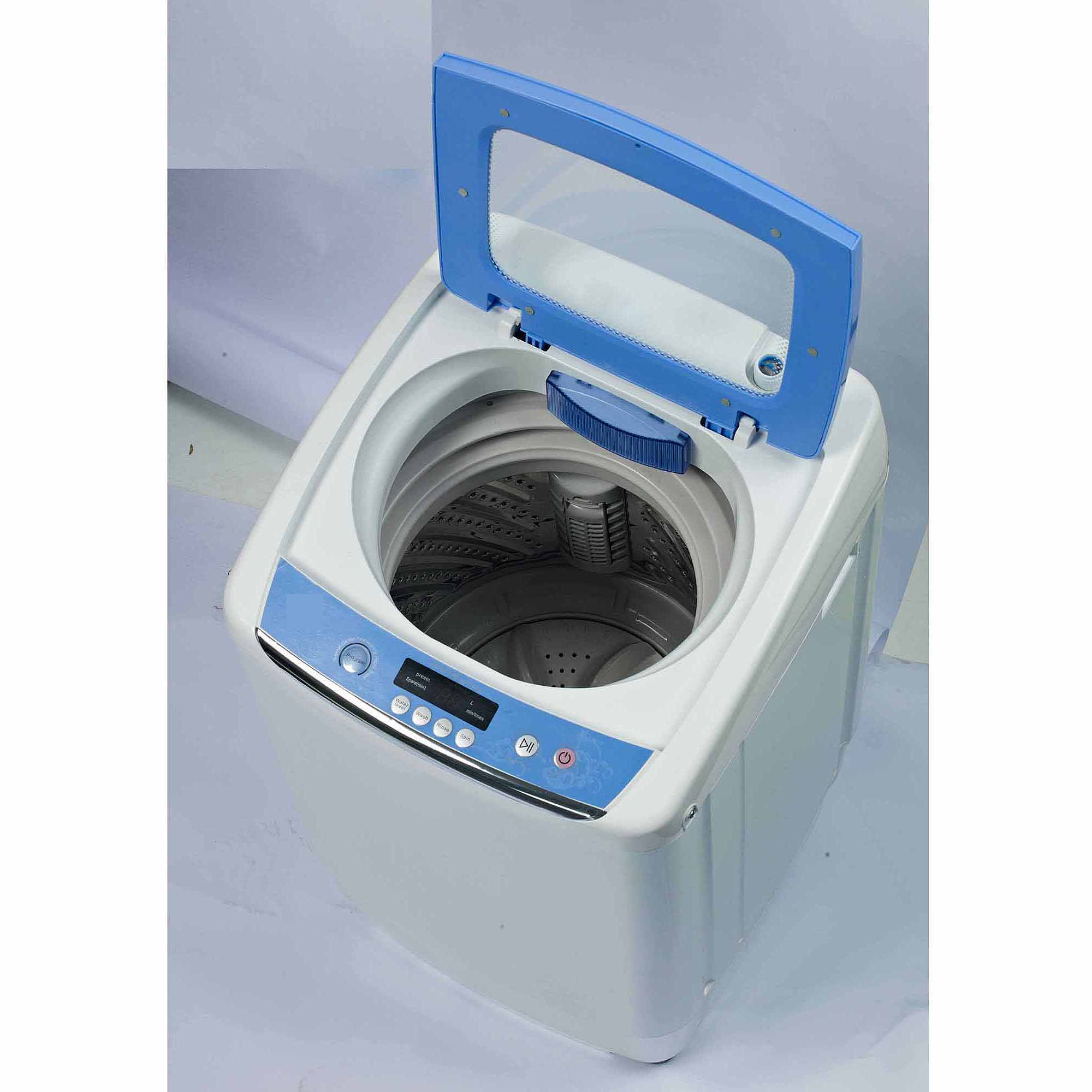 RCA 0.9 cu ft Portable Washer w/ Your Choice of Iron or Garment ...