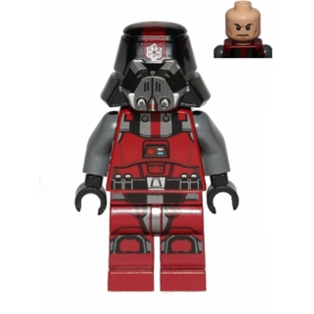 LEGO Star Wars Sith Trooper - Dark Red Outfit Minifigure - Sith Outfit