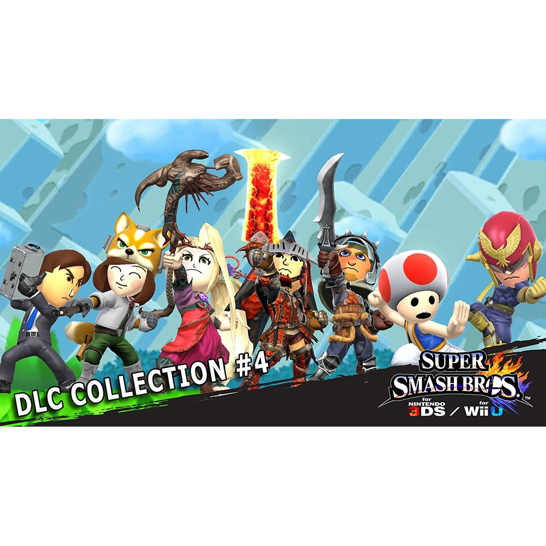 Super Smash Bros. DLC Collection #4, Nintendo, Nintendo 3DS, [Digital Download], 0004549668085