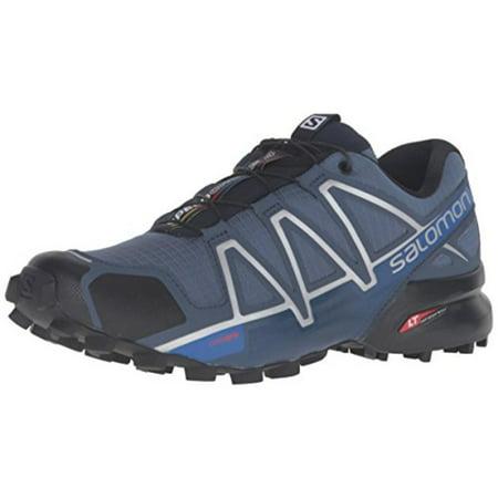 1cce8611ef8e Salomon - Salomon Men s Speedcross 4 Trail Running Shoes (Blue  Yonder Black Slate