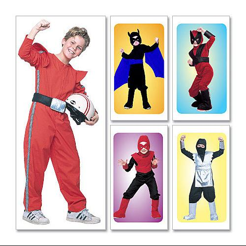 Children's/Boys' Good Guys Costumes - CHILD [(3 - 4) (5 - 6)] Pattern