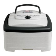 Nesco Food Dehydrator - 700 Watts, Square, 4 Trays - Square Shaped (FD-80)