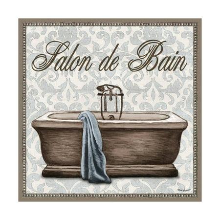 Salon de Bain Square Print Wall Art By Todd Williams