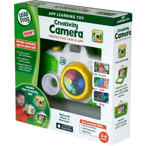LeapFrog Creativity Camera App with Protective Case, Green by LeapFrog