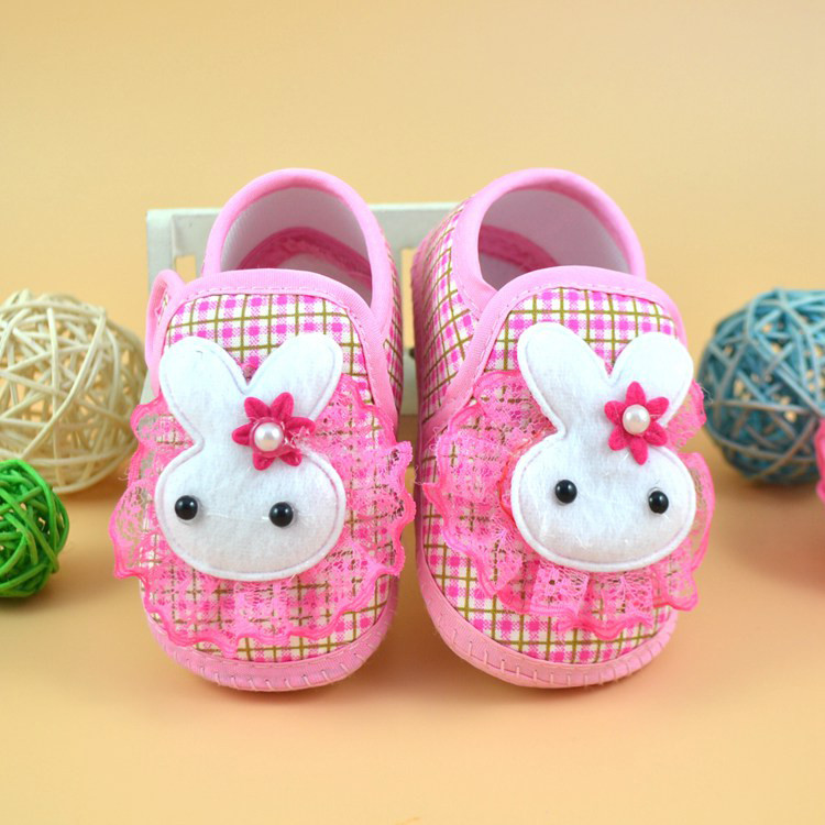 Mosunx Newborn Girl Boy Soft Sole Crib Toddler Shoes Canvas Sneaker