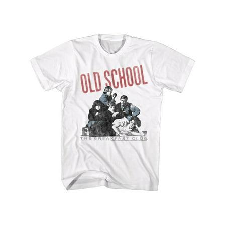 554f0bfb0b Breakfast Club Movie Old School Adult T-Shirt Tee