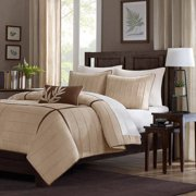 Home Essence Lancaster 4-Piece Microsuede Comforter Set