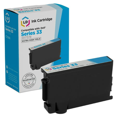 Compatible Set of 9 (Series 33/34) Extra High Yield Ink Cartridges for the Dell V525w & V725w Printers: 3 Black, 2 Cyan, 2 Magenta & 2 -