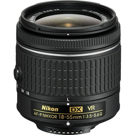 Nikon AF-P DX NIKKOR 18-55mm f/3.5-5.6G VR Lens (Best Wildlife Lens For Nikon D500)
