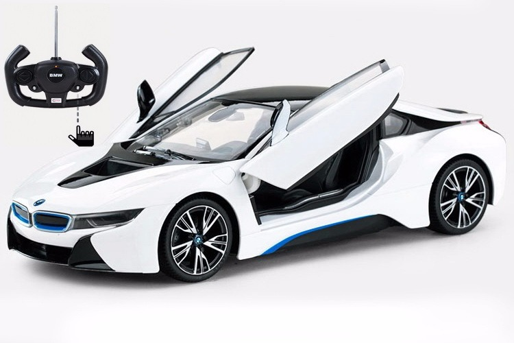 Radio Control Model Car 1 14 BMW i8 Authentic Body Styling w Open Doors RC Vehicles... by