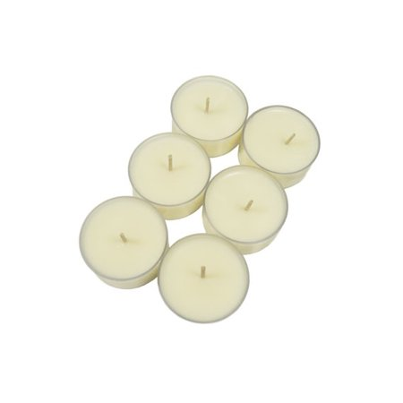 Simple Soy Natural Scented TEALIGHTS, Warm Vanilla 10pk