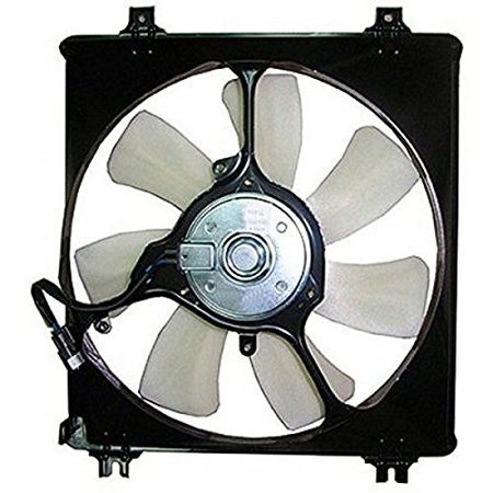 A-C Condenser Fan Assembly - Cooling Direct For/Fit 08-12 Honda Accord Sedan/Coupe V6 10-15