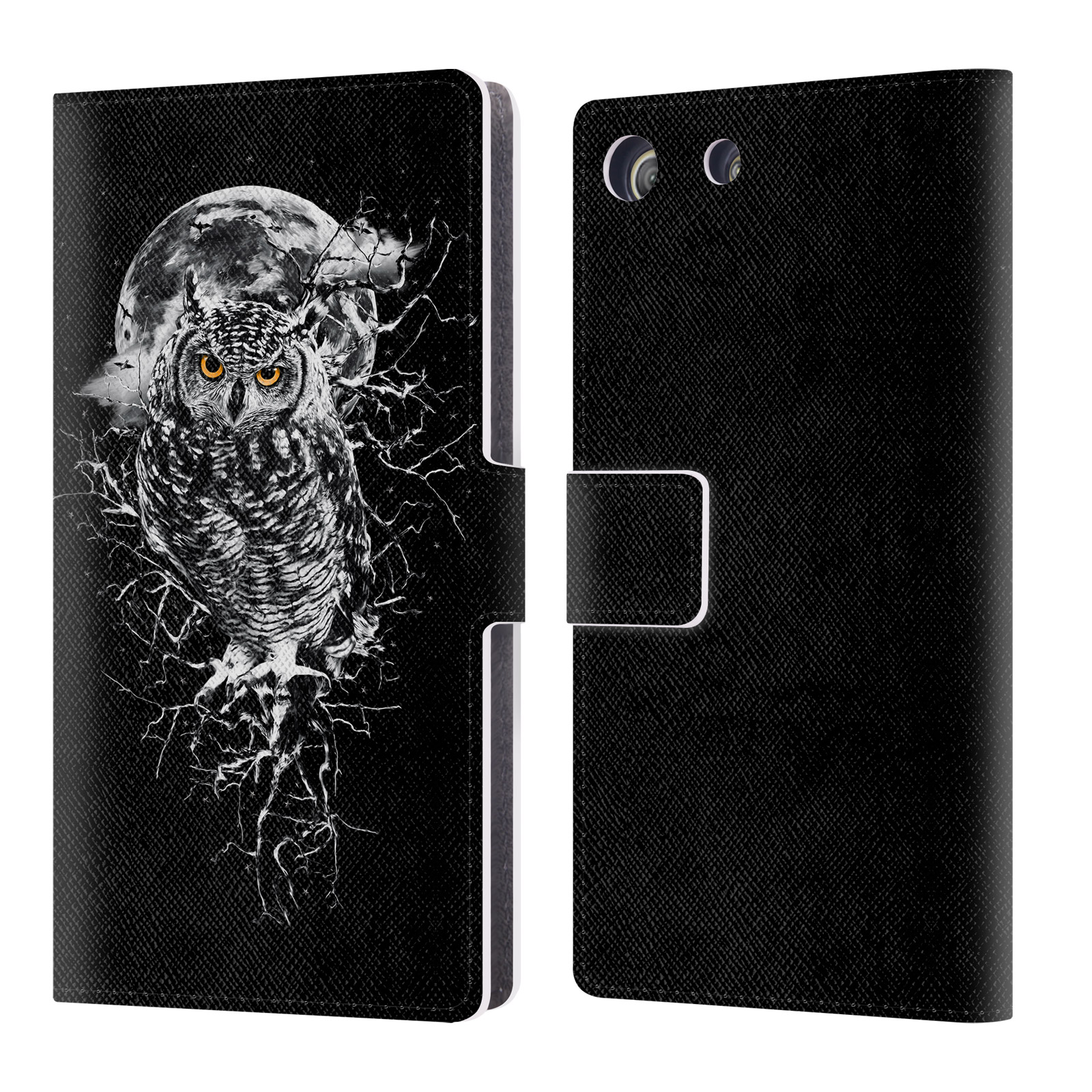 OFFICIAL RIZA PEKER ANIMALS 2 LEATHER BOOK WALLET CASE COVER FOR SONY PHONES 2