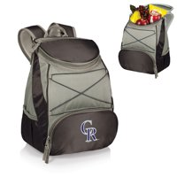 Colorado Rockies PTX Backpack Cooler - Black - No Size