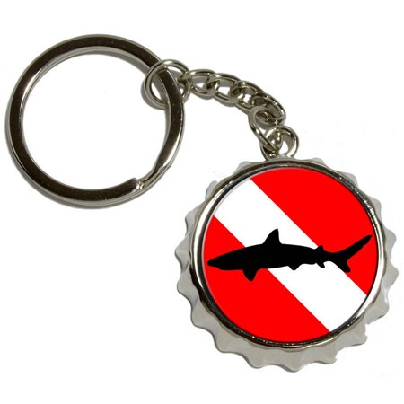 Shark Bottle Cap Ring
