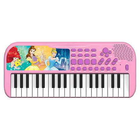 Disney Princess Belle Ariel Cinderella Musical Keyboard by First Act - Disney Keyboard