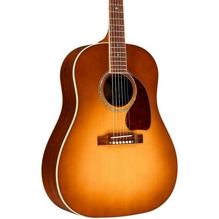 Gibson 2019 J-45 Walnut Custom Acoustic-Electric Guitar Honey