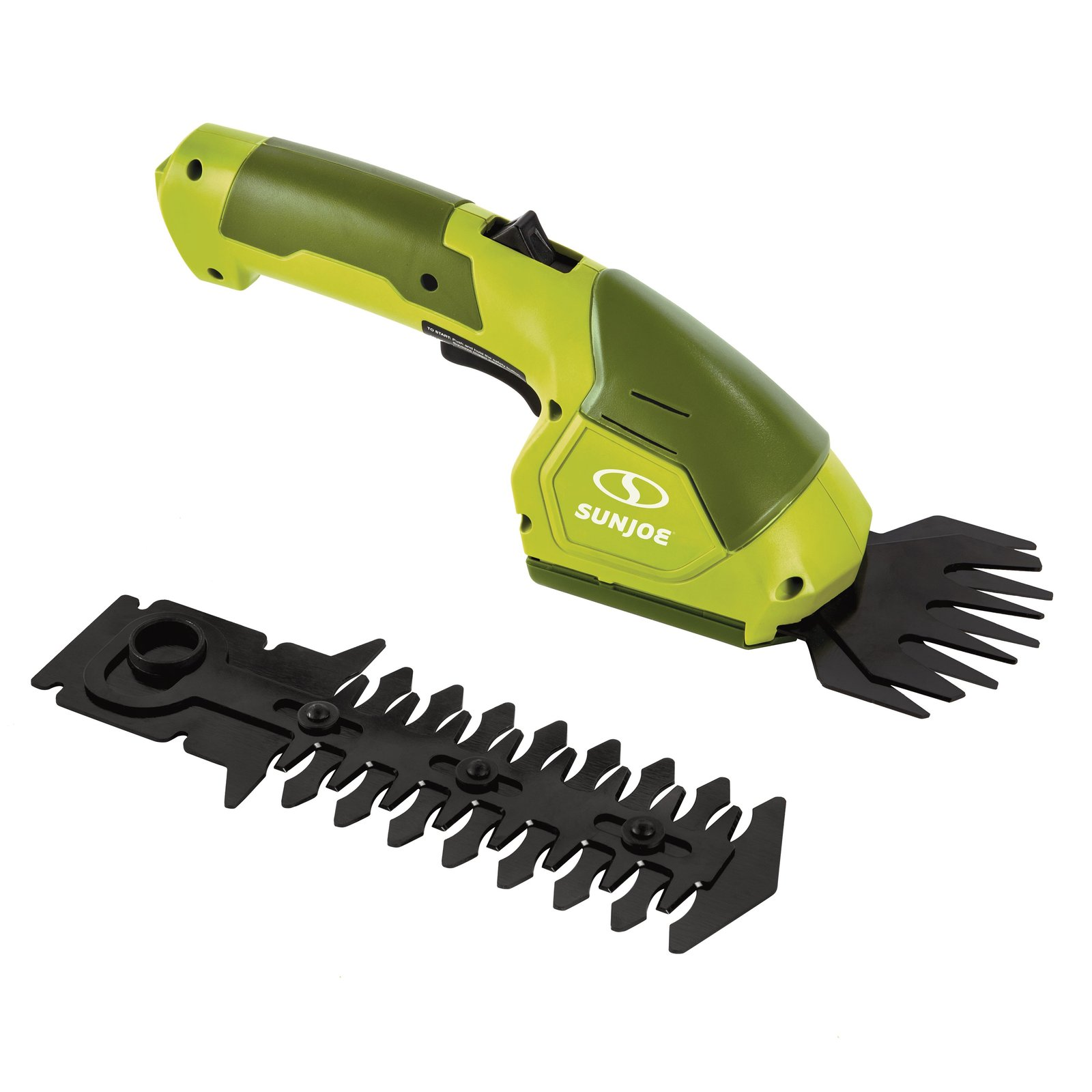 Sun Joe HJ604C Cordless Grass Shear + Hedger | 2-in-1 | 7.2 V | Green