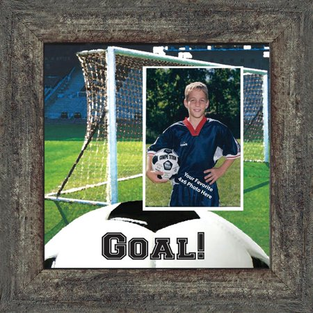 Soccer Picture Frame,  Personalized Soccer Gifts for Soccer Players, 10X10 - Soccer Player Photo