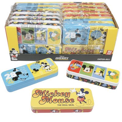 Pencil Boxes In Bulk (New 218312  Mickey Mouse Tin Pencil Case (24-Pack) Cheap Wholesale Discount Bulk Stationery)