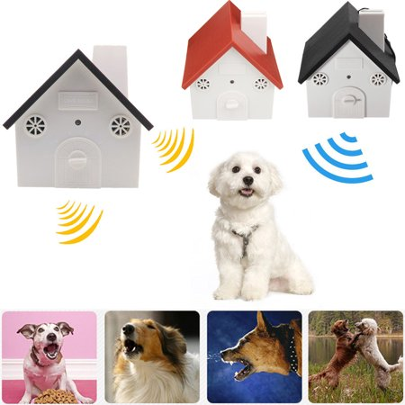 - Ultrasonic Waterproof Dog Anti Bark House Controller Silencer Stopper Bark Control Birdhouse Anti Bark Device Dog Barking Control Devices Outdoor Indoor