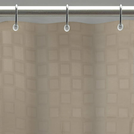 excell bowery 70 x 72 fabric shower curtain liner with. Black Bedroom Furniture Sets. Home Design Ideas