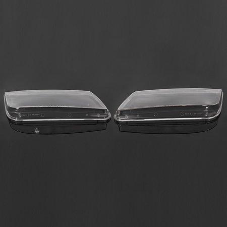2x Plastic Headlight Lenses Cover Headlamp For VW JETTA BORA MK4 1998-2004 Lamp - image 1 de 5