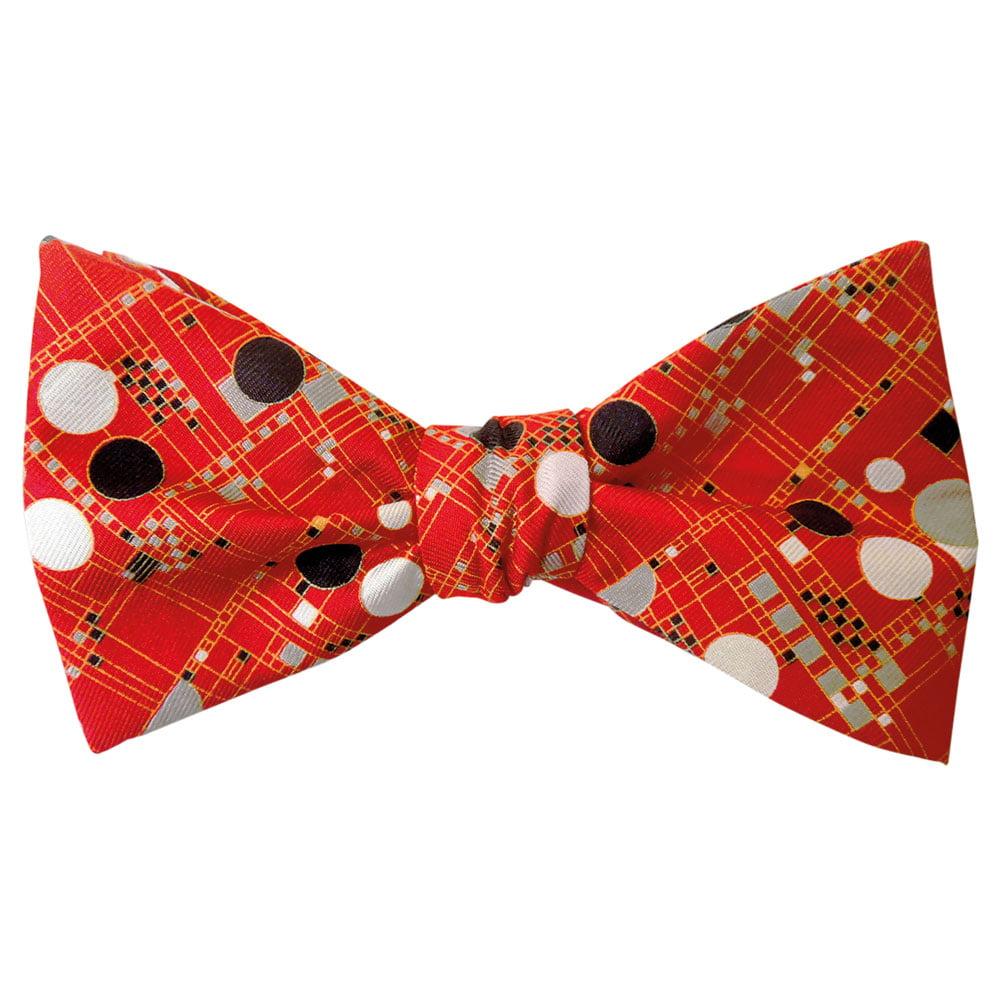 Men's Frank Lloyd Wright Coonley Playhouse Silk Bow Tie
