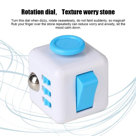 Stores That Sell Stress Balls (OTVIAP 6 In 1 Plastic Square Shape Anti Stress Decompression Toy for Adult Children , Decompression Toy, Anti Stress Decompression)