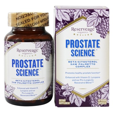Reserveage Nutrition - Prostate Advantage - 60 Capsules