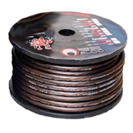 RE Audio REC-8G Quality Flexible 8 Gauge 250 Foot Brown Ground Wire Rec8G