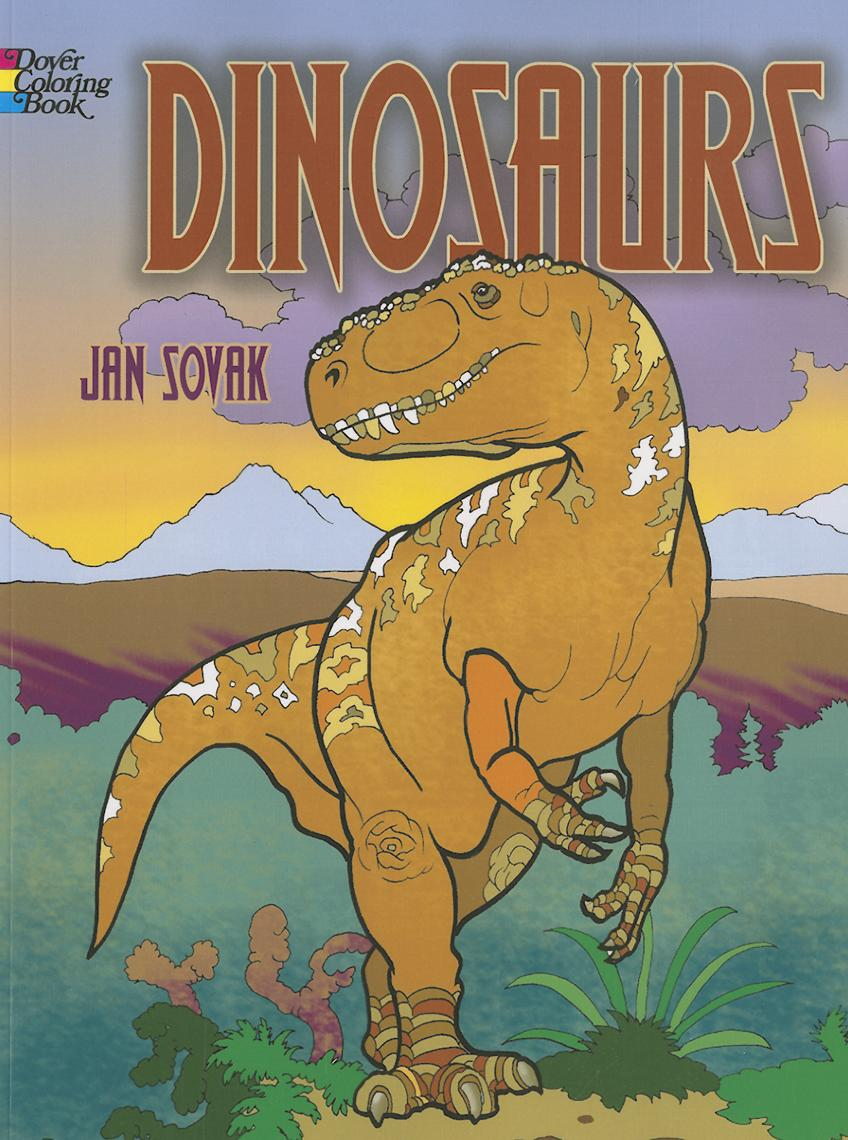 Dover Coloring Books for Children: Dinosaurs (Paperback) - Walmart.com