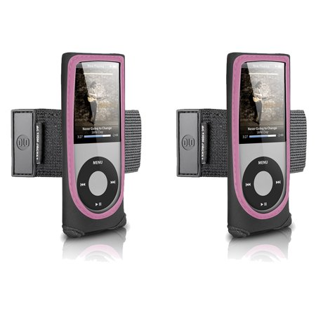 DLO - Philips Action Jacket for iPod nano 4th Gen (Black/Pink) - Buy One, Get One Free