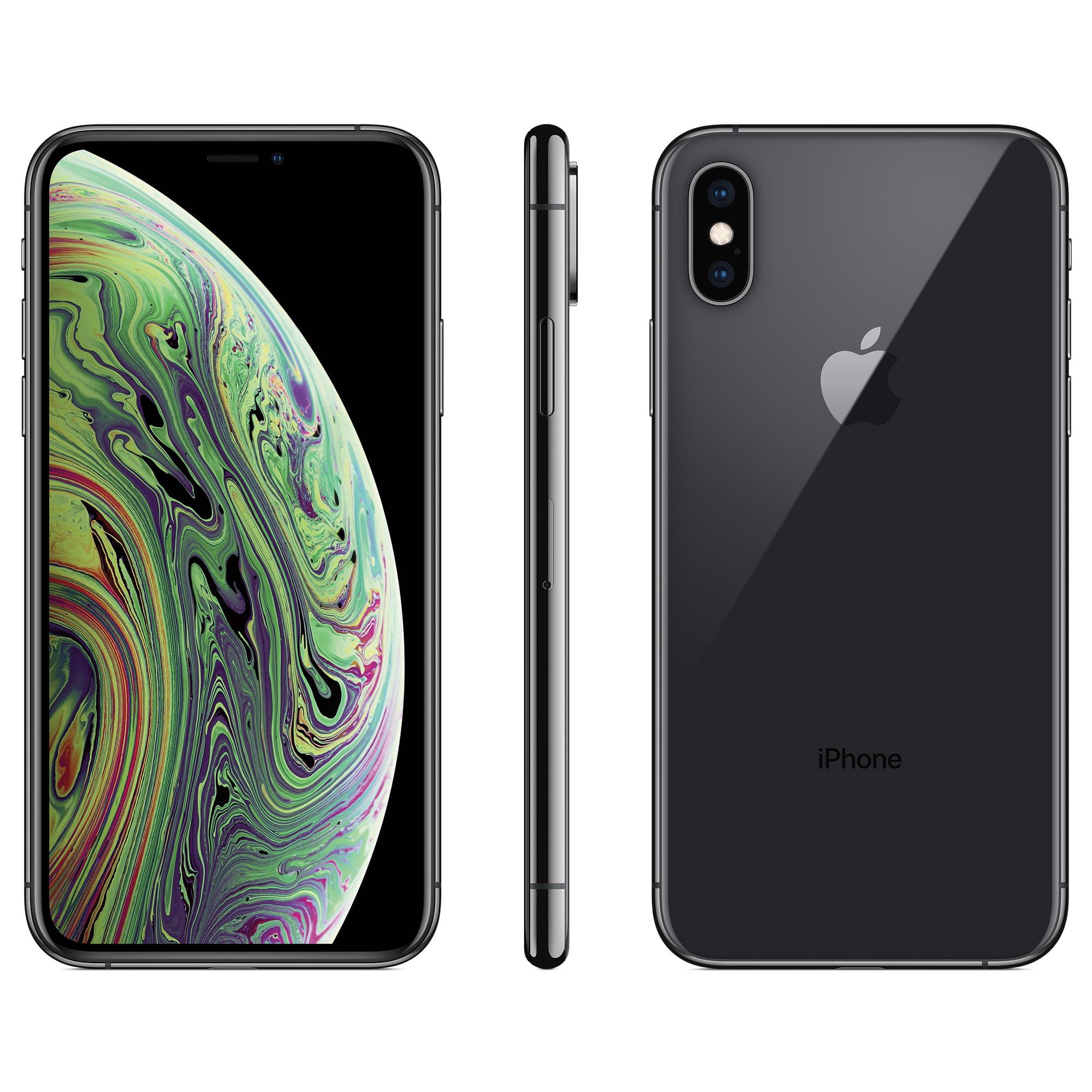 Straight Talk Apple iPhone XS w 64GB, Gray by Straight Talk