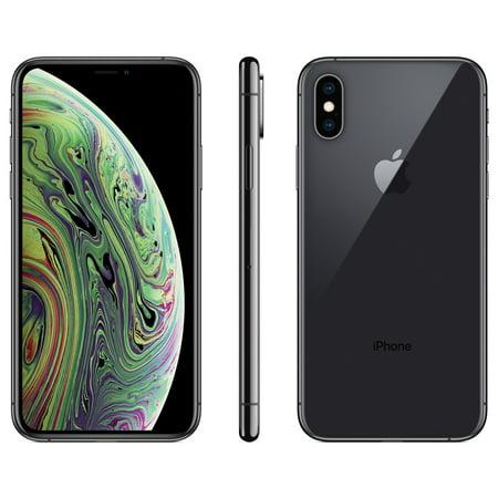 Straight Talk Apple iPhone XS w/64GB, Gray