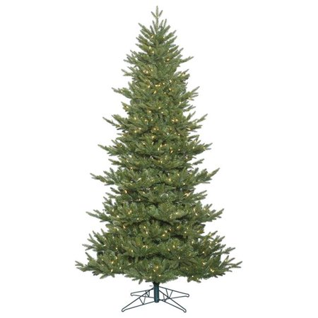 Vickerman G163546 Hawthorne Frasier Dura-Lit Christmas Tree with Clear Lights, 4.5 ft. x 40 in. - image 1 de 1