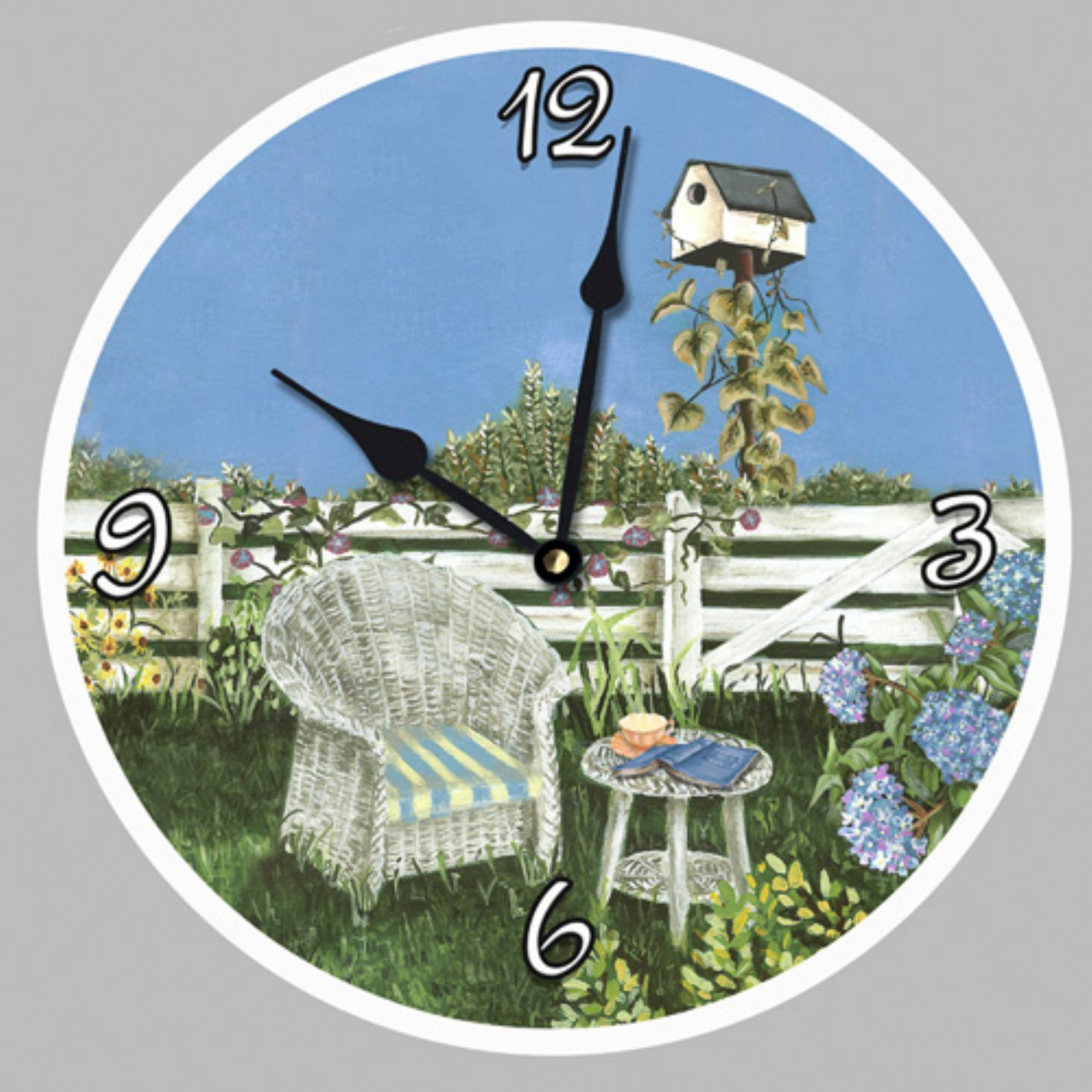 Lexington Studios Ericas Garden Wall Clock