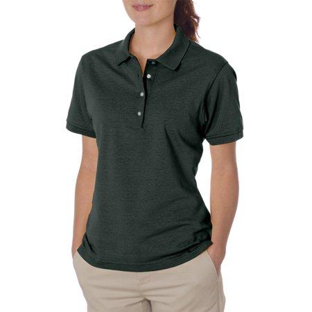 Jerzees Women 39 S Four Pearl Buttons Collar Sport Polo Shirt