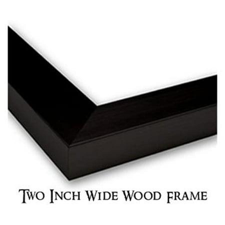 Best Bridge at Villeneuve la Garenne 36x28 Large Black Wood Framed Print Art by Alfred Sisley deal