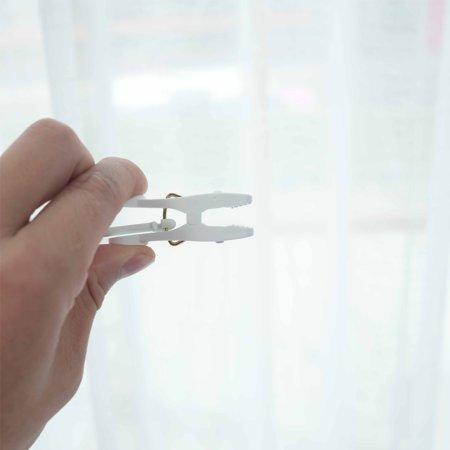 Portable 24 Clips Multi-Purpose Hanger Folding Magic Clothes-Hanger - image 3 of 7