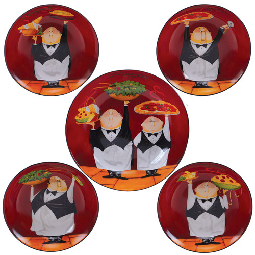 Certified International Waiters Pasta Bowl Set of 5 by Overstock