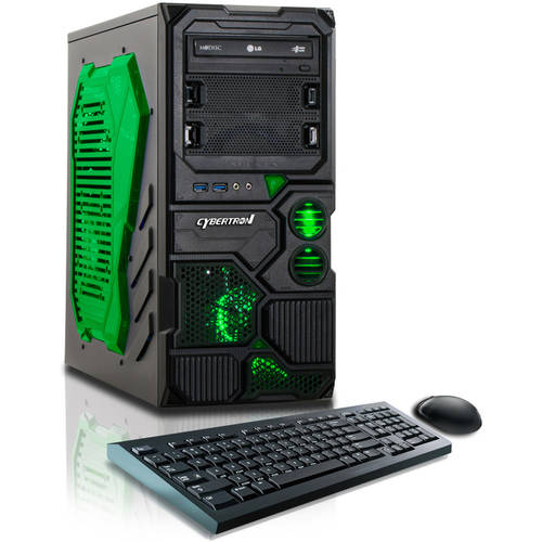 CybertronPC Borg - Q Gaming Desktop PC with AMD FX - 4130 Quad - Core Processor, 8GB Memory, 1TB Hard Drive and Windows 10 Home (Monitor Not Included)