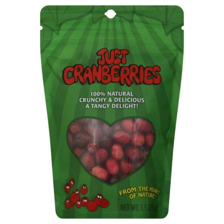 - Just Tomatoes Just Tomatoes  Cranberries, 1.5 oz