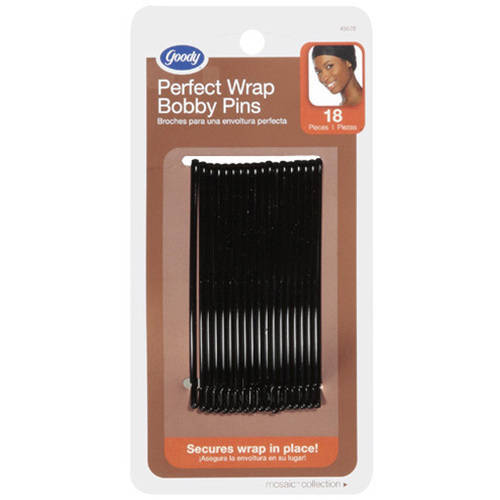 Goody Mosaic Collection Perfect Wrap Bobby Pins, 18 count