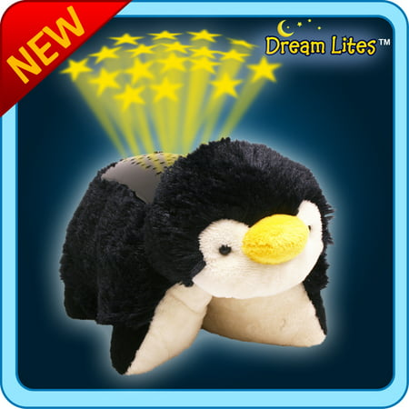 Authentic Pillow Pets Perky Penguin Dream Lites Toy -