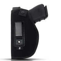 Neoprene Holster by PH - Soft Material | Soft Interior | Fits Glock 17 19 23 25 32 38 | Sig Sauer P320 | Springfield XDS 4"