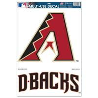 "Arizona Diamondbacks WinCraft 2-Piece 11"" x 17"" Multi-Use Decal Sheet"