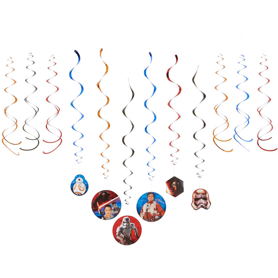 Star Wars Episode VII Hanging Party Decorations, Party Supplies
